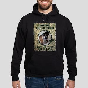 Honor the Soldier Hoodie (dark)