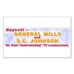 General Mills S.C. Johnson (Rect. Sticker 10 pk)