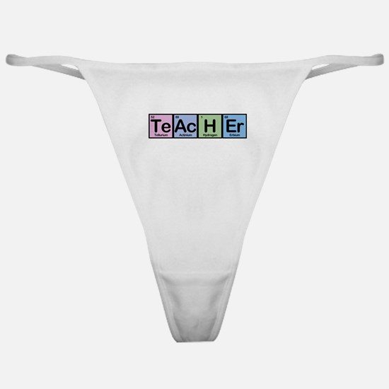 Teacher made of Elements Classic Thong