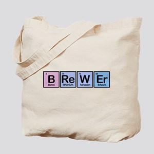 Brewer made of Elements Tote Bag