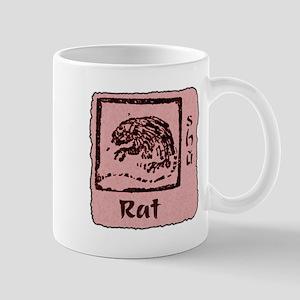 Zodiac Rat Mug