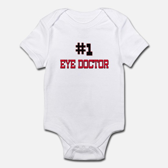 Number 1 EYE DOCTOR Infant Bodysuit