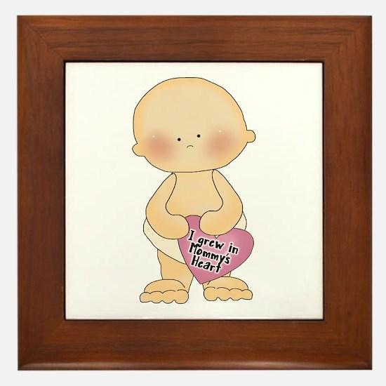 Adoption Heart Framed Tile