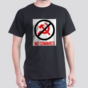 No Commies! Ash Grey T-Shirt