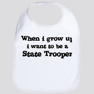 Be A State Trooper Bib