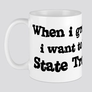 Be A State Trooper Mug