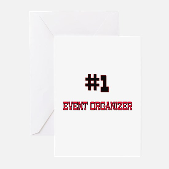 Number 1 EVENT ORGANIZER Greeting Cards (Pk of 10)
