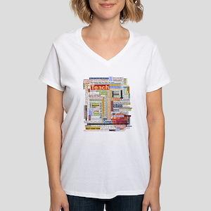 Teacher Women's V-Neck T-Shirt
