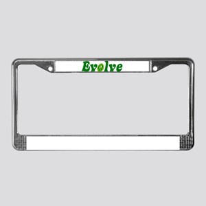 Evolve License Plate Frame
