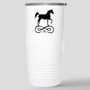 Infinity Arabian Horse Stainless Steel Travel Mug