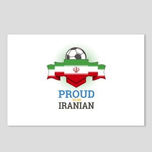 Football Iranian Iran Soc Postcards (Package of 8)