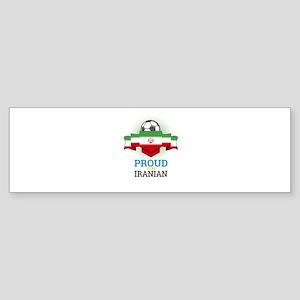 Football Iranian Iran Soccer Team S Bumper Sticker