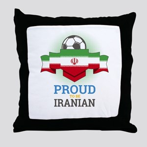Football Iranian Iran Soccer Team Spo Throw Pillow