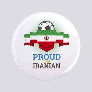 """Football Iranian Iran Soccer Team Spor 3.5"""" Button"""