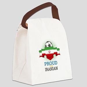 Football Iranian Iran Soccer Team Canvas Lunch Bag