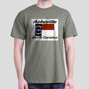 Asheville North Carolina Dark T-Shirt