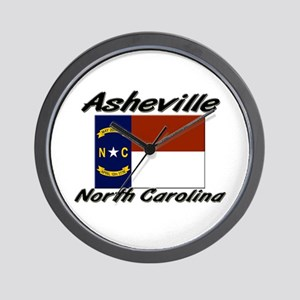 Asheville North Carolina Wall Clock