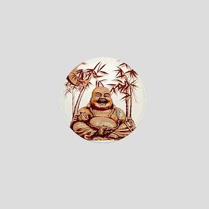 Riyah-Li Designs Happy Buddha Mini Button