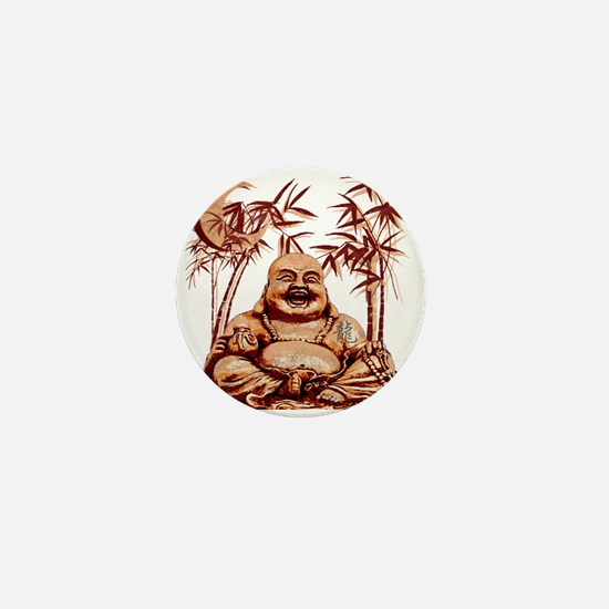 Riyah-Li Designs Happy Buddha Mini Button