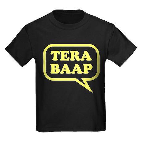 Tera Baap. Kids Dark T-Shirt