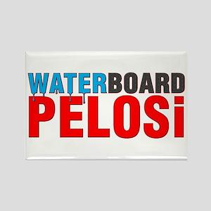 Waterboard Pelosi Rectangle Magnet