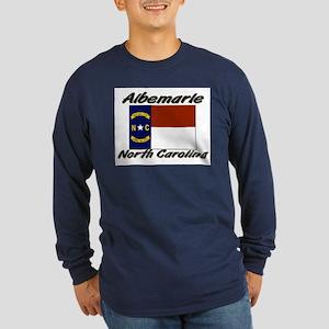 Albemarle North Carolina Long Sleeve Dark T-Shirt