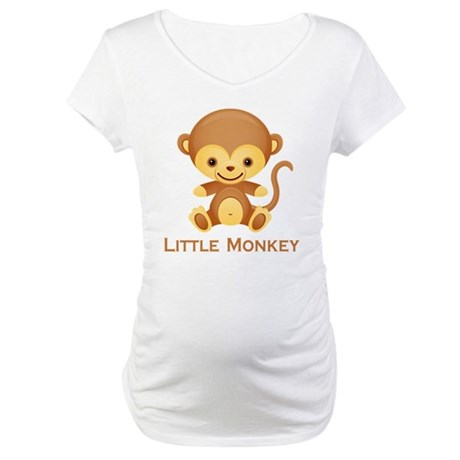 Little Monkey Maternity T-Shirt