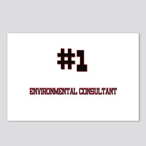 Number 1 ENVIRONMENTAL CONSULTANT Postcards (Packa