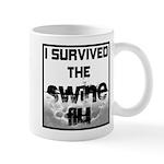 I Survived The Swine Flu Mug
