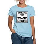 I Survived The Swine Flu Women's Light T-Shirt