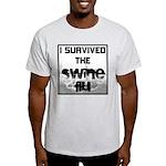 I Survived The Swine Flu Light T-Shirt