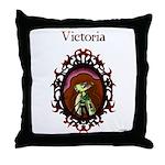 Twilight VictoriaThrow Pillow