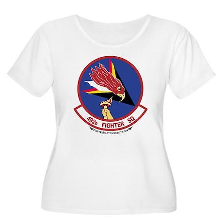 492nd FS Women's Plus Size Scoop Neck T-Shirt