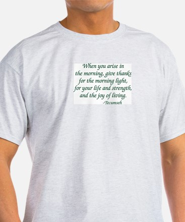 Arise In The Morning T-Shirt