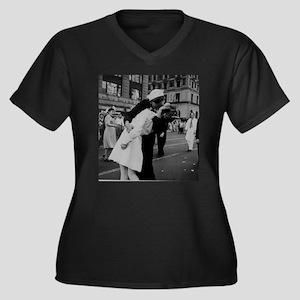 ww2TheKiss.jpg Plus Size T-Shirt