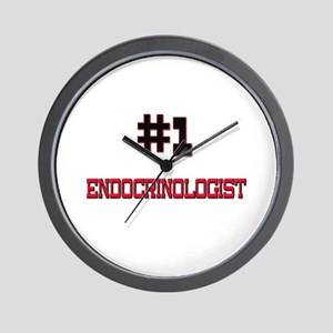 Number 1 ENDOCRINOLOGIST Wall Clock