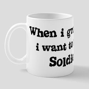 Be A Soldier Mug