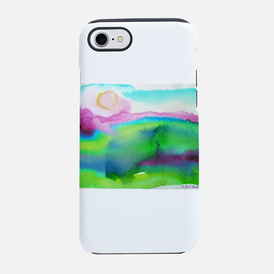 landscape, colorful art! iPhone 7 Tough Case