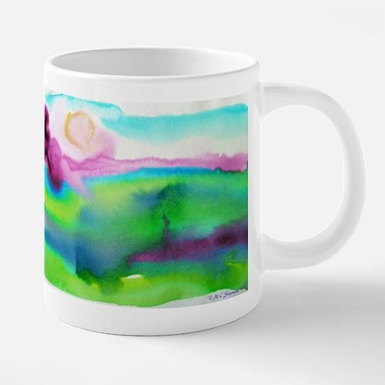 landscape, colorful art! 20 oz Ceramic Mega Mug