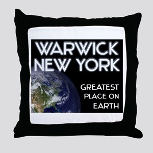 warwick new york - greatest place on earth Throw P