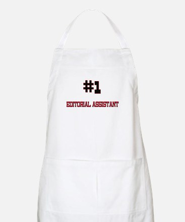 Number 1 EDITORIAL ASSISTANT BBQ Apron