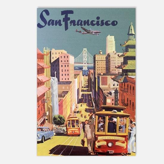 Vintage Travel Poster San Francisco Postcards (Pac