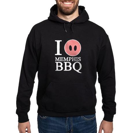 I Love Memphis BBQ Hoodie (dark)
