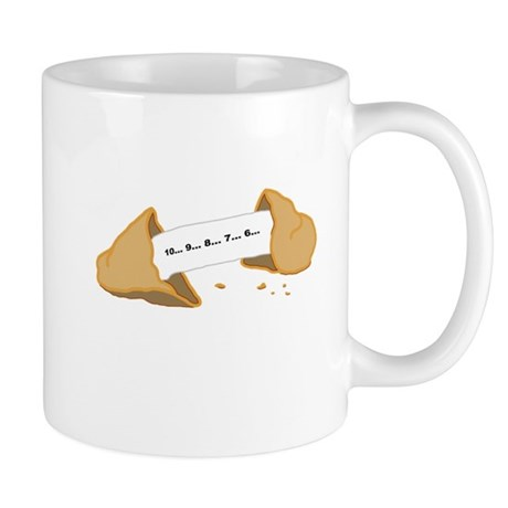 Countdown Fortune Cookie Mug