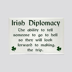 Irish Diplomacy Magnet (3x2)