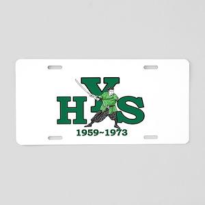 yamato high school Aluminum License Plate