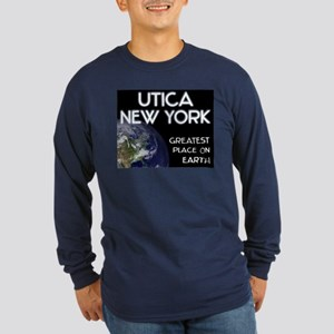 utica new york - greatest place on earth Long Slee
