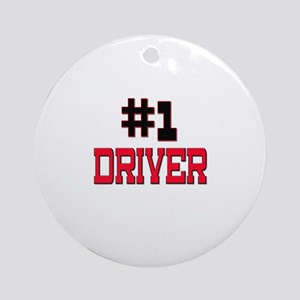 Number 1 DRIVER Ornament (Round)