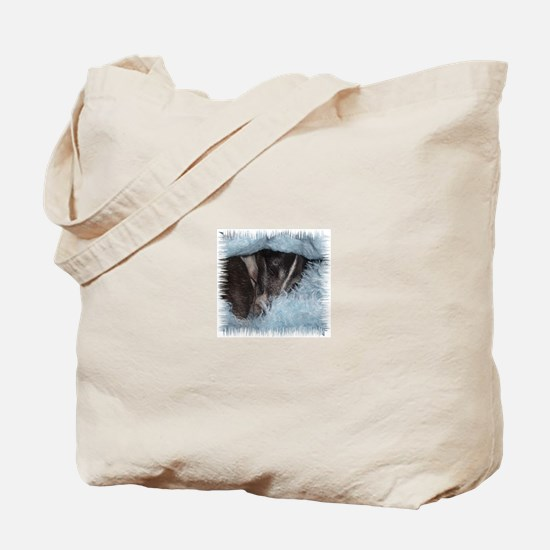 Blue Fuzzy III Tote Bag