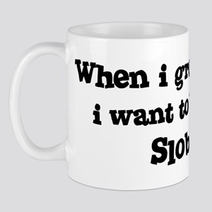 Be A Slob Mug